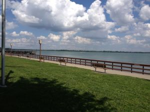 Bishop Park in Wyandotte, Michigan